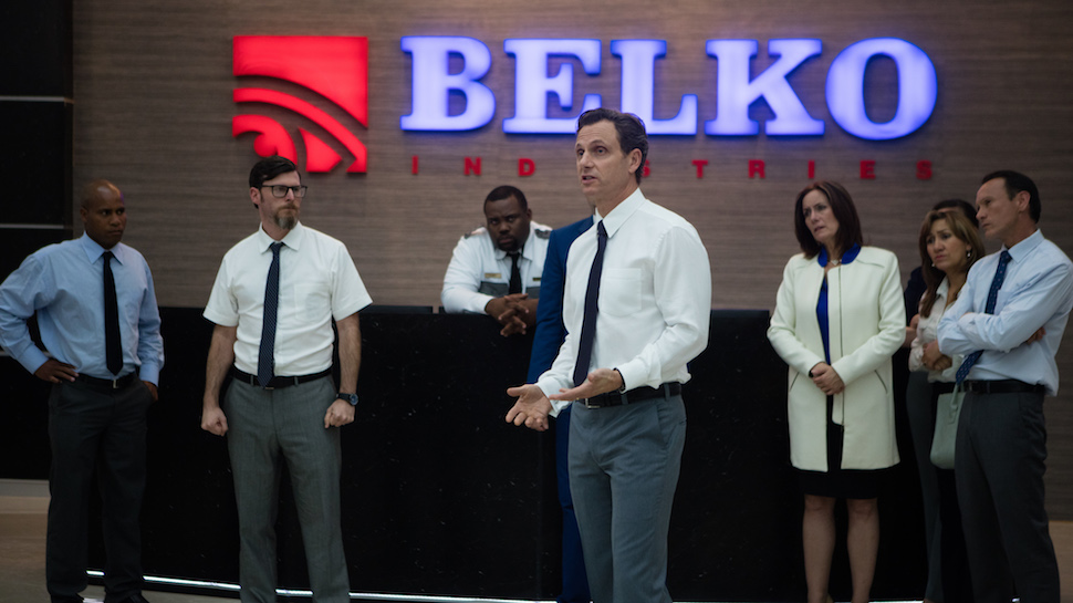 Image result for the belko experiment poster