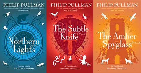 Image result for his dark materials book covers