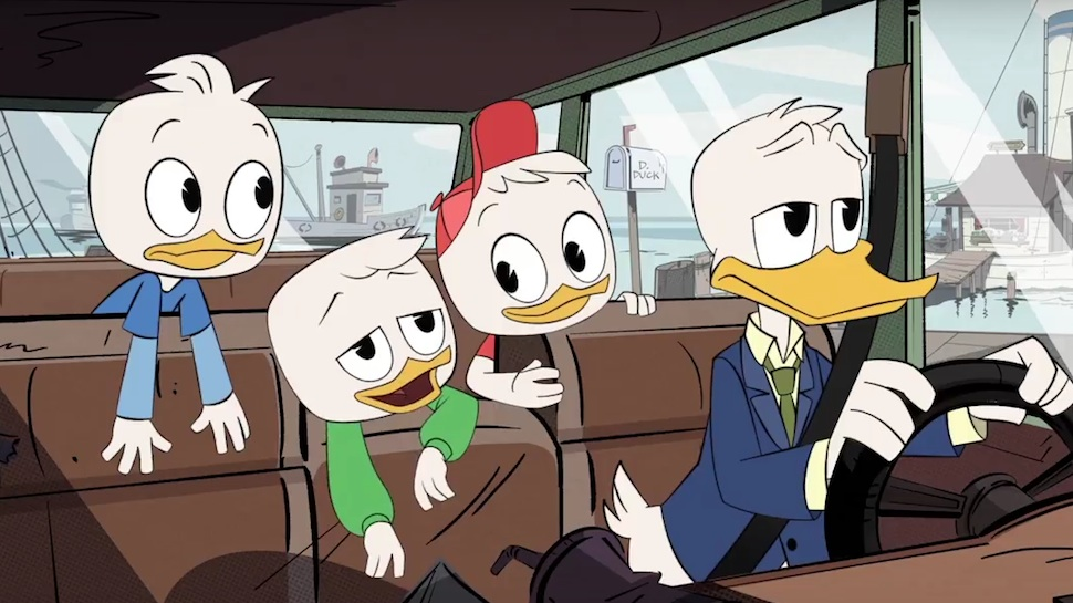 Wallpaper Pato Gravity Falls New Ducktales First Trailer Has Us Eager To Go Back To