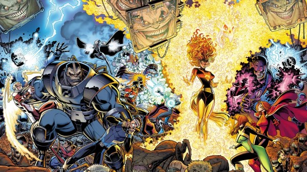 First XMEN RESURRXION Crossover Brings Back the