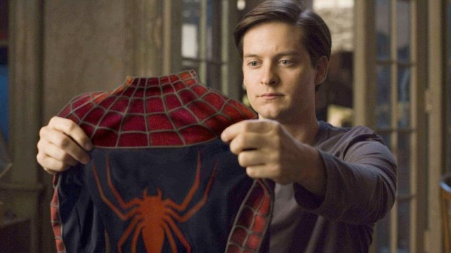 Image result for tobey maguire spider man