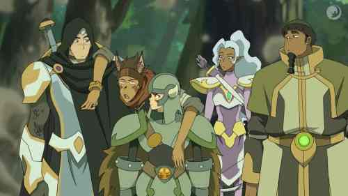 The VOLTRON Team Goes LARPing in Season 6