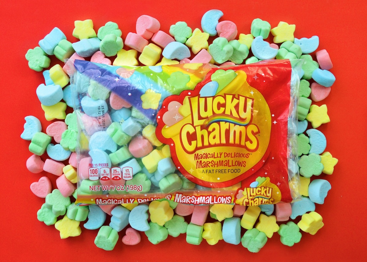 Lucky Charms Giant Marshmallow Only Bags On Their Way