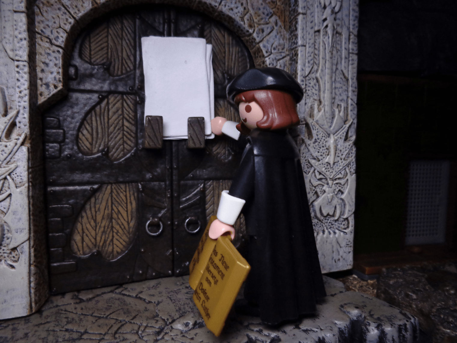 Life In Plastic Reformation Day Martin Luther Playmobil