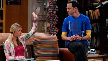 Penny e Sheldon