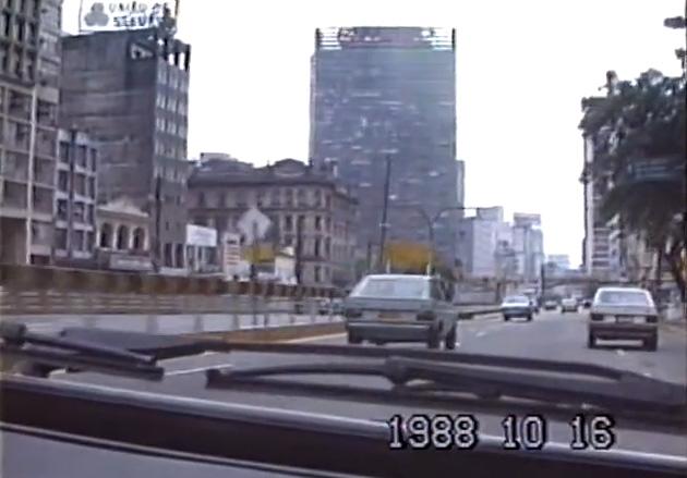 Vídeo mostra como era São Paulo em 1988