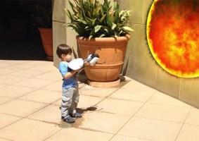 Action Movie Kid e suas peripécias de herói