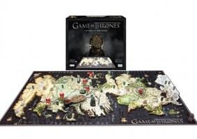 Quebra-cabeças de Game of Thrones em 4D