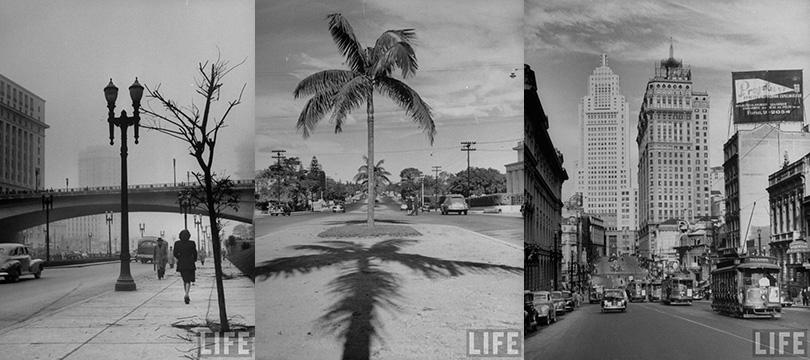 Incríveis fotos de São Paulo em 1947