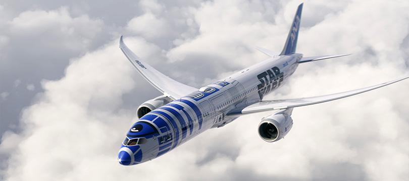 Companhia aérea japonesa lança jato R2-D2