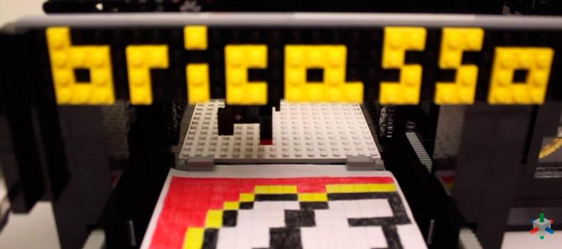Bricasso, a impressora de mosaicos de LEGO