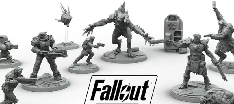 Um jogo de tabuleiro do Fallout vem aí
