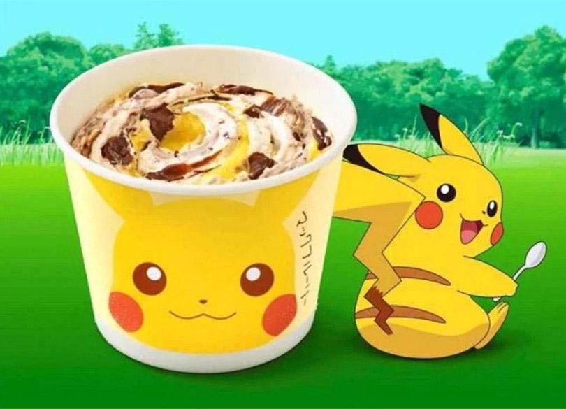 McDonalds do Japão lança McFlurry do Pikachu