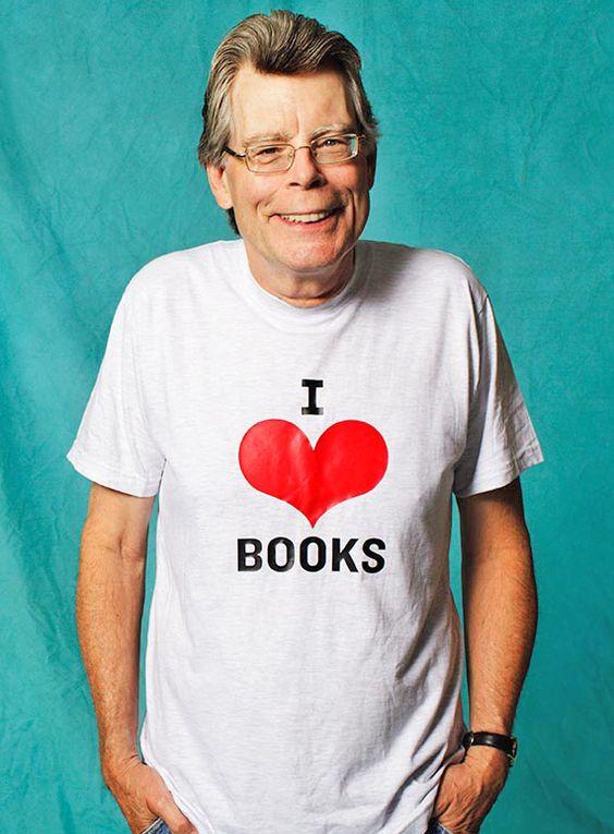 Os 10 livros favoritos de Stephen King