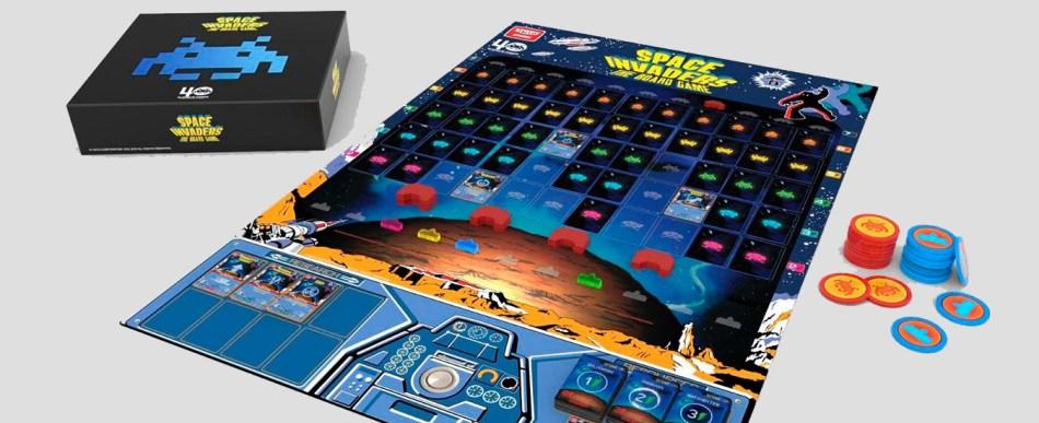 Vem aí um jogo de tabuleiro do Space Invaders