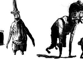 Ilustrações medonhas de William Burke