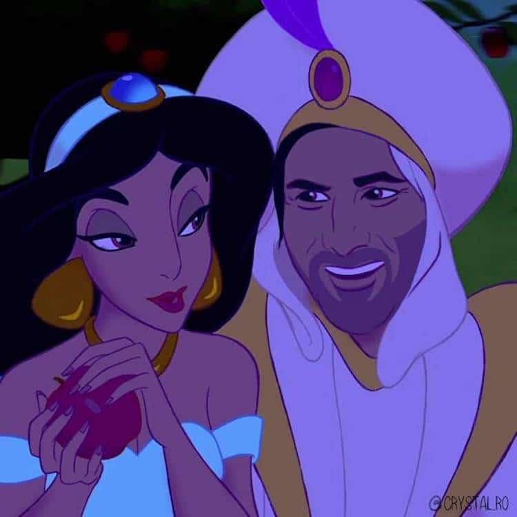 Artista recria Keanu Reeves como príncipe da Disney