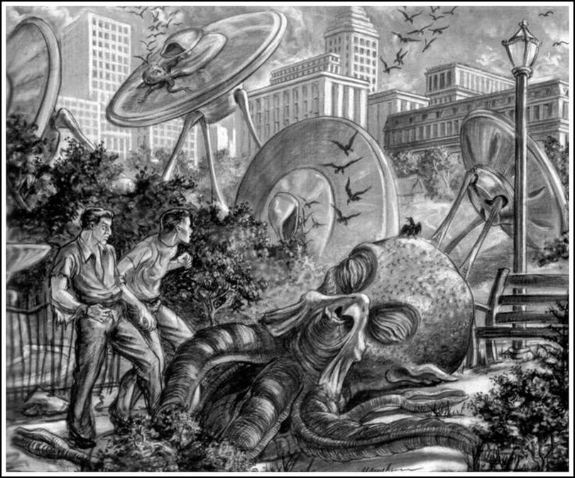 A Guerra dos Mundos de Ray Harryhausen