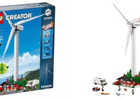 LEGO de peças ecológicas traz turbina eólica funcional