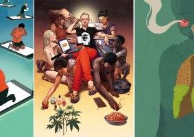 35 ilustrações dos problemas da sociedade moderna