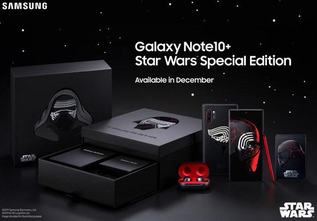 Kylo Ren Galaxy Note10+ é revelado pela Samsung