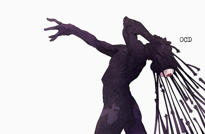 9 Doenças mentais como monstros