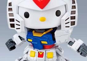 Gundam e Hello Kitty se juntam em figura de ação oficial