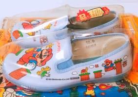 As pantufas do Mario Bros de 1986