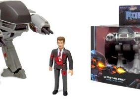 Figuras ReAction do Robocop recriam estilo retrô