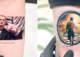 30 tatuagens em miniatura da cultura pop