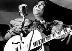 Mulheres que construíram o rock and roll na década de 1950