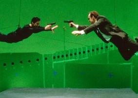 Como foram criados os efeitos especiais de Matrix