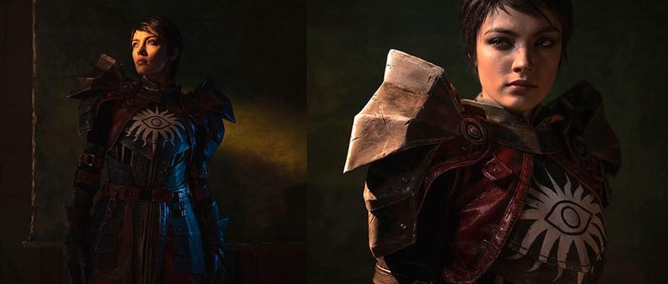 Cosplay de Dragon Age II parece um game da nova geração