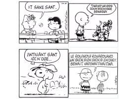 IA cria tirinhas do Peanuts de forma automática