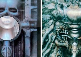 As obscuras e surrealistas capas de álbuns criadas por H.R. Giger