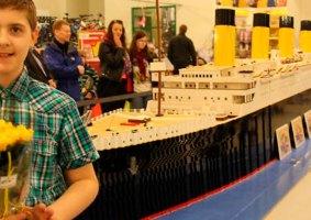 A história do garoto autista que construiu um Titanic de LEGO