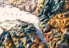 Cartógrafo transforma mapas antigos em 3D