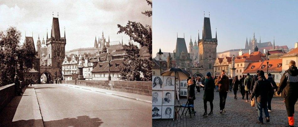 19 recriações de fotos antigas nos dias de hoje