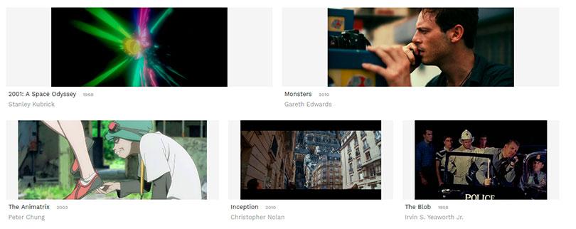 Flim: o site com milhares de screenshots de filmes para baixar