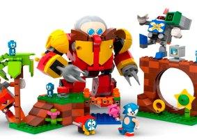 Vem aí um set de LEGO do Sonic