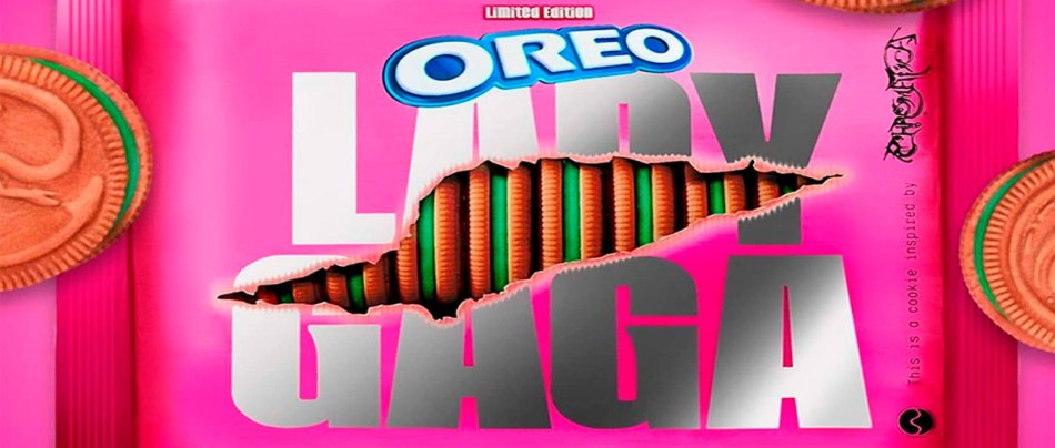 Oreo da Lady Gaga parece biscoitos do Mewtwo