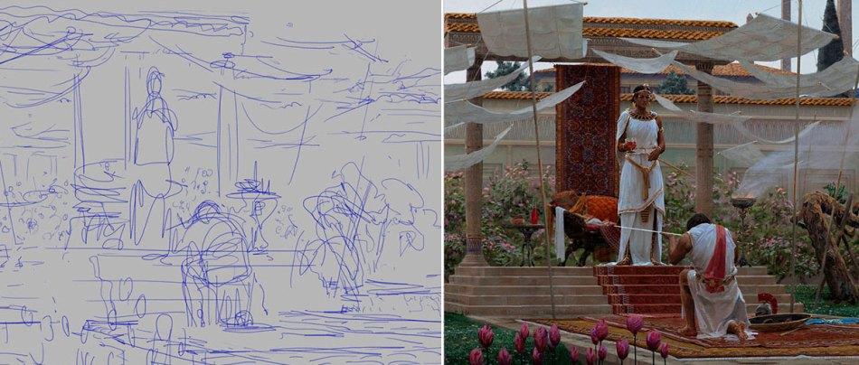 Antes e depois de Rascunhos e Artes Finais