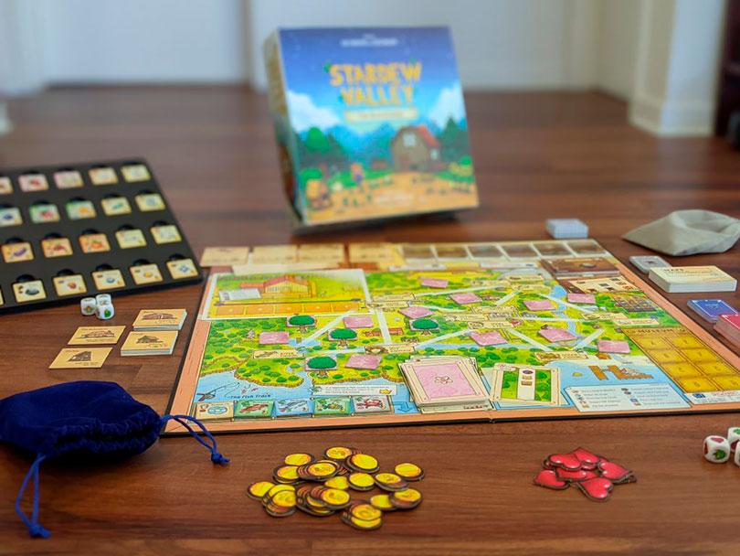 Stardew Valley agora é um jogo de tabuleiro!