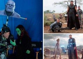 Fotos de bastidores de filmes que revelam os truques do cinema