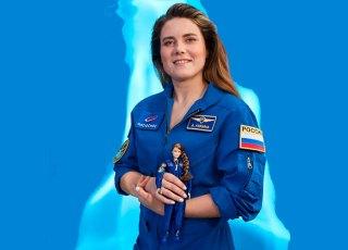 Única astronauta mulher ativa da Rússia inspira boneca Barbie