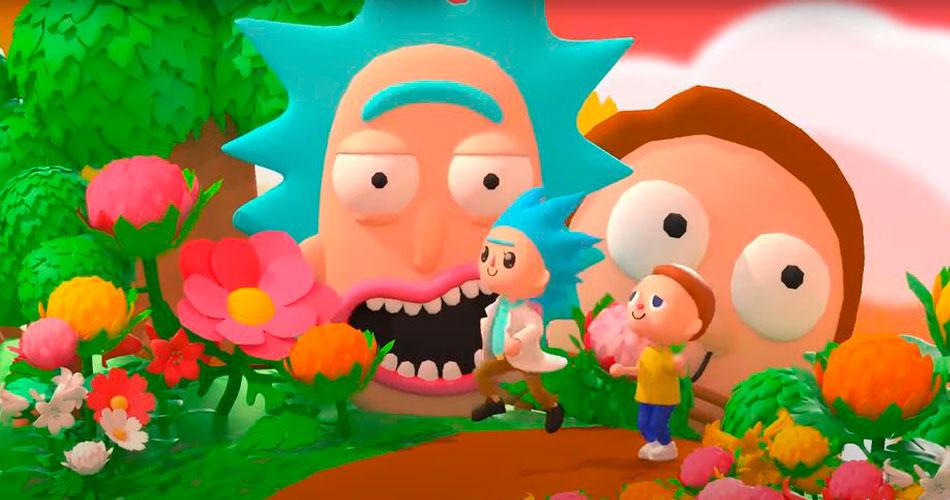 Rick and Morty no Animal Crossing!
