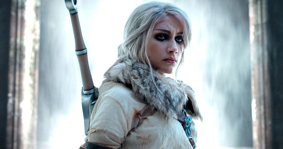 Cosplay de Ciri dá tom de guerreira para menina prodígio de Witcher