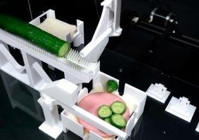 Pesquisadores transformam impressora 3D em máquina de lanche