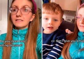 Mãe ensina sobre consentimento com tarefas básicas no dia a dia