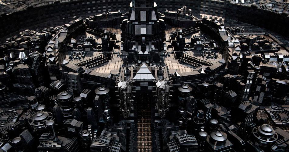 Os Mundos LEGO Afrofuturistas de Ekow Nimako